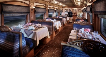 Waavar is one of the two restaurant cars where fine Indian  Continental cuisine is served