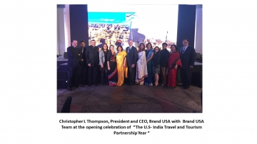 Brand USA launches US – India travel and tourism partnership year