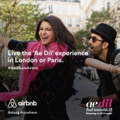 Airbnb announces 'Ae Dil Lets Airbnb' contest