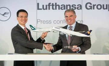Cathay Pacific signs agreement with Lufthansa Group