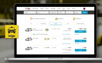 ixigo introduces outstation cab booking with reverse bidding model