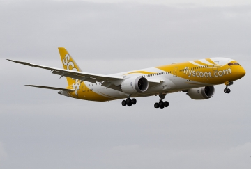 Scoot commences service to India