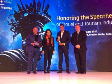 Thomas Cook bags 'Best Outbound Tour Operator' Award at SATTE Awards 2020