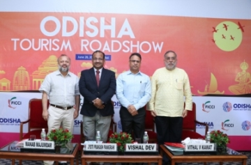 Odisha showcases its tourism offerings