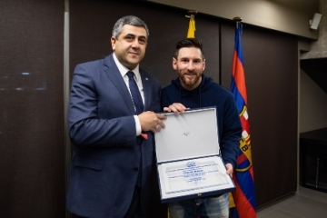 UNWTO appoints Messi as Ambassador for Responsible Tourism