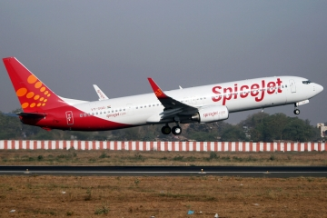 SpiceJet takes delivery of Boeing 737 MAX 8