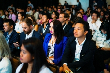Conference in progress at ITB Asia 2017