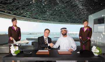 Louvre Abu Dhabi signs partnership with Etihad Airways