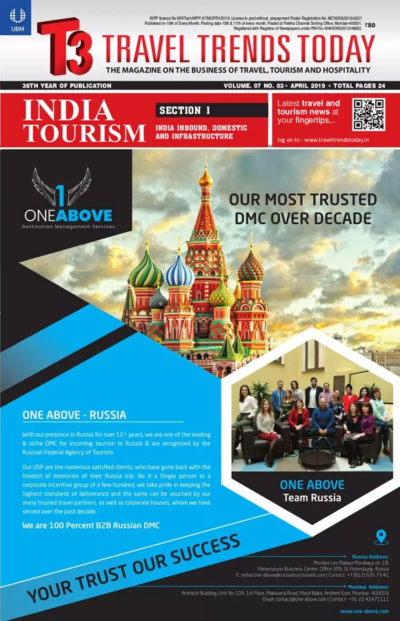 T3,Travel Trends Today, India Tourism Statistics, Travel