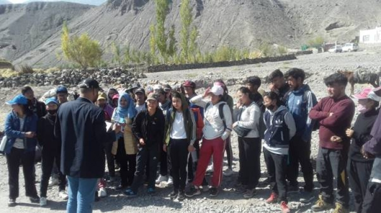Tourism Ministry organises Trekking Training course in Ladakh