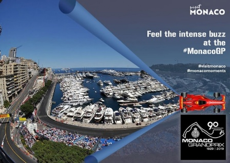Monaco's Grand Prix F1 takes place from May 23-26, 2019