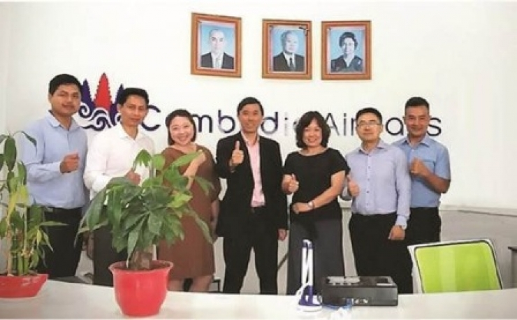 Cambodia Airways Signs Agreement with Sabre