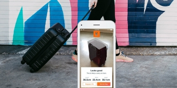 KAYAK launches augmented reality bag measurement tool