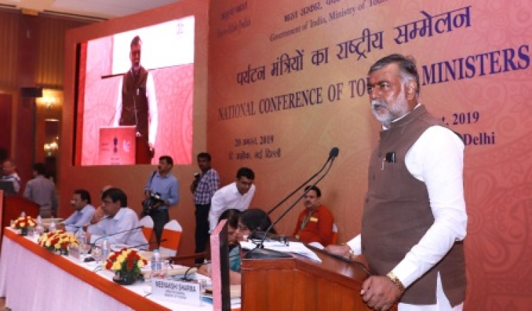 Patel addressing at the inauguration of the State Tourism Ministers' Conference in New Delhi
