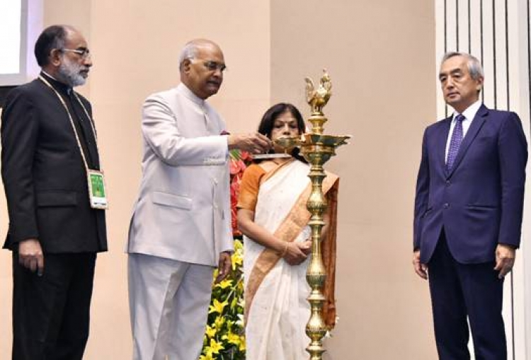 "President inaugurates ""International Buddhist Conclave 2018"""