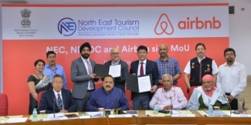 Airbnb signs MoUs for promotion of tourism in the North-East