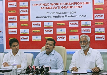 Andhra Pradesh set to host F1H2O India Grand Prix