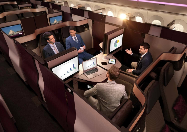Qatar Airways introduces Qsuite on Indian routes