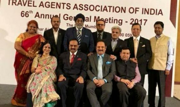 Sunil Kumar re-elected as President of TAAI