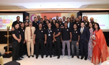 Team India at the launch