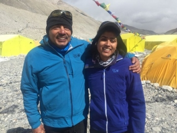 Bajajs become first father-daughter duo to scale the Mount Everest
