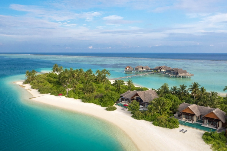 Maldives named 'the islands with the best places to stay'