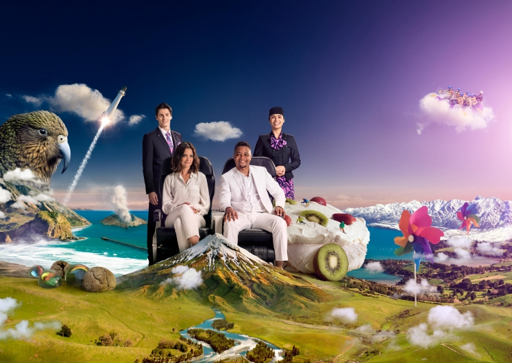 Air New Zealand teams up with American actors to launch new safety video