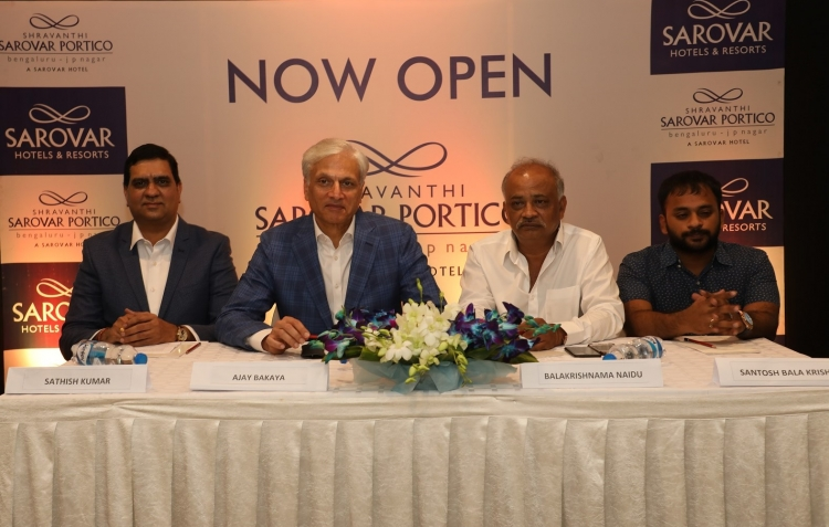 Sarovar Hotels and Resorts expands footprint in Bengaluru
