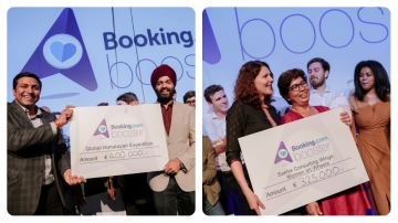 Indian Start-ups receive highest grants from Booking.com's €2 mn fund