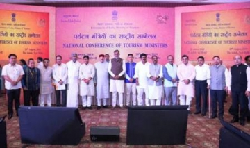 Prahlad Singh Patel with State Tourism Ministers