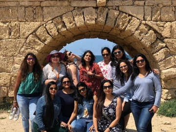 Israel organises fam for women's special group
