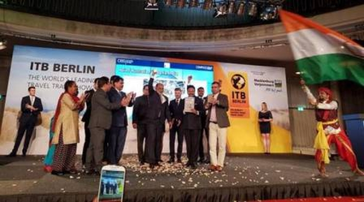 "India Wins ""Best Exhibitor Award"" at ITB – Berlin"