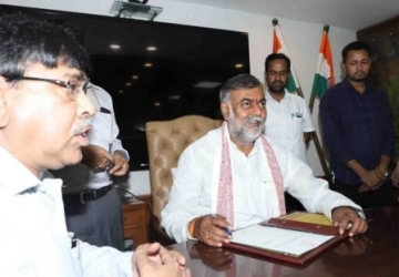 Prahlad Singh Patel assumes charge as the MoS (I/C) for Tourism