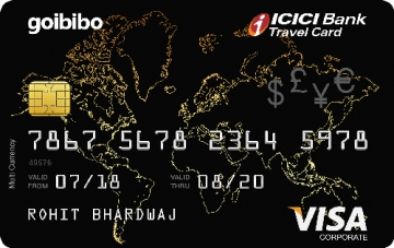 ICICI Bank and Goibibo launches co-branded card