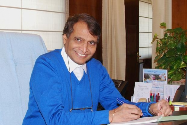 Suresh Prabhu gets additional charge of Ministry of Civil Aviation