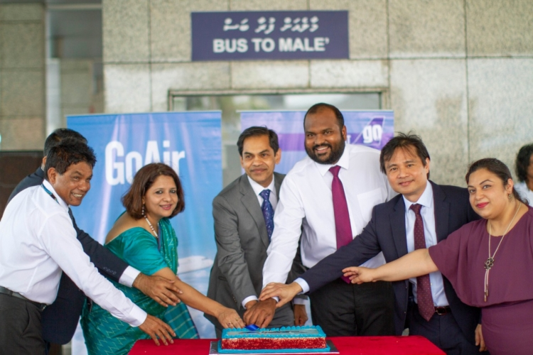 Maldives Tourism Minister inaugurates GoAir flight to Malé