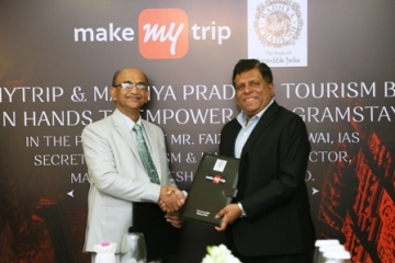 MMT join hands with MP Tourism to Promote Homestays in the State
