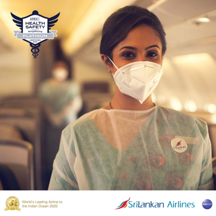 SriLankan Bags Platinum Standard Status by APEX Health Safety