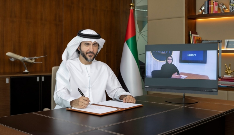 Etihad signs MoU with Hub71