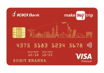 MakeMyTrip and ICICI launch co-branded credit cards