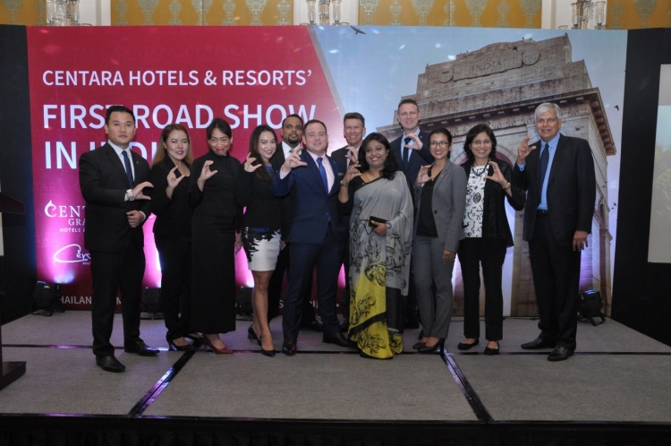 Centara Hotels & Resorts organises roadshow in India