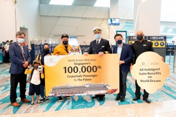 Dream Cruises welcomes 100,000th passenger