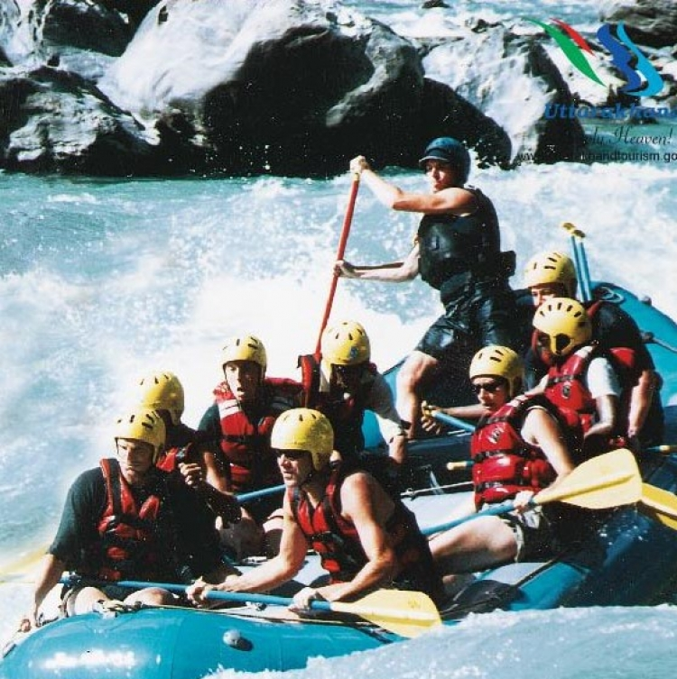 Rishikesh Welcomes 4,000 Tourists for River Rafting during Sept 26 -Oct 4