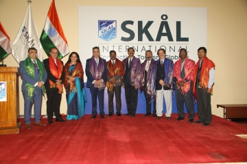 New Team Takes Over at Skal International India