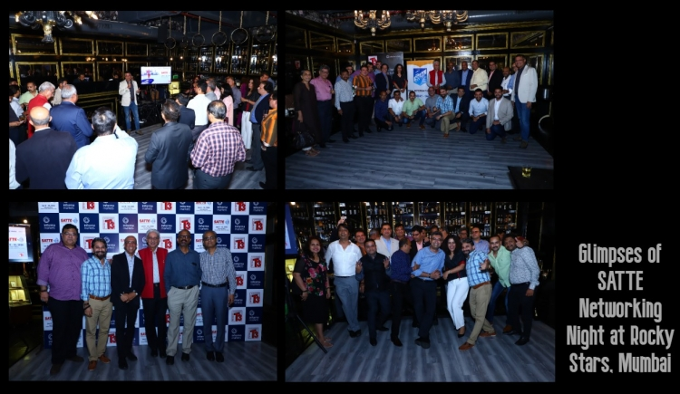 SATTE organises networking evening in Mumbai