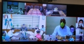 Patel Holds Virtual Meeting with 15 State Tourism Ministers/Officials
