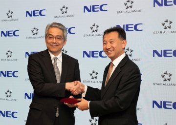 Star Alliance signs partnership with NEC Corporation