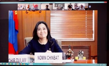 India and Mongolia Discusses Cultural Exchange Programme