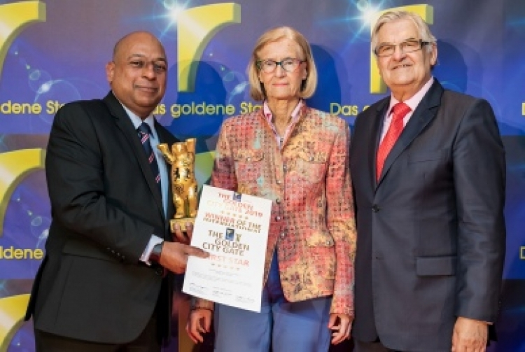 SriLankan bags awards at Golden City Gates Awards 2019