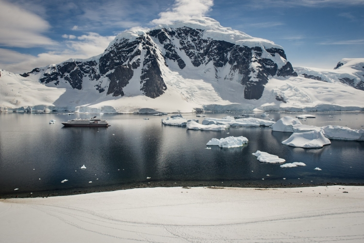 The Q launches Antarctica expedition